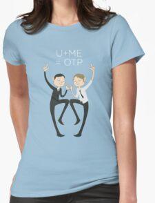 U+ME=OTP MORMOR Womens Fitted T-Shirt