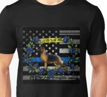 Thin Blue Line Flag Unisex T-Shirt