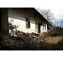 Small rural house Photographic Print