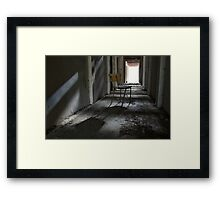 Lonely chair Framed Print