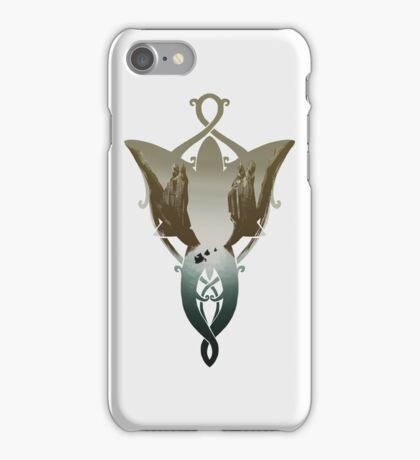 Evenstar at the Argonath 2.0 iPhone Case/Skin