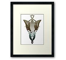 Evenstar at the Argonath 2.0 Framed Print