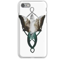 Evenstar at the Argonath iPhone Case/Skin