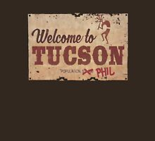 WELCOME TO TUSCON POPULATION PHIL Last Man On Earth Classic T-Shirt