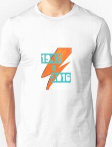 David Bowie - Ziggy stardust tribute T-Shirt