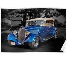 1934 Ford Model B Tourer Poster