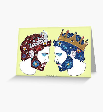 """""""Mirror, mirror on the wall, who is the fairest queen of them all"""" Greeting Card"""