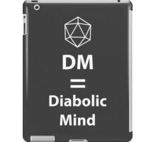 Dungeon Master = Diabolic Mind  iPad Case/Skin
