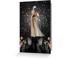 COLLECTING STARS Greeting Card