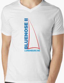Bluenose II Lunenburg NS Mens V-Neck T-Shirt