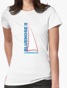Bluenose II Lunenburg NS Womens Fitted T-Shirt