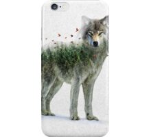 Wild I Shall Stay | Wolf iPhone Case/Skin
