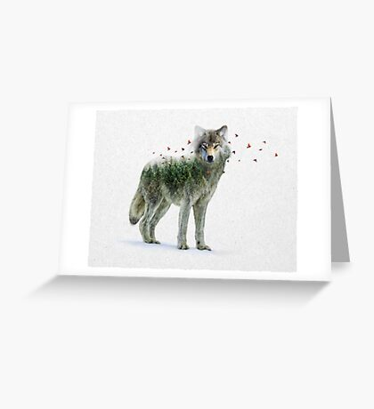 Wild I Shall Stay | Wolf Greeting Card