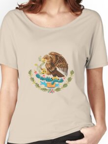 Coat of Arms of Mexico Women's Relaxed Fit T-Shirt