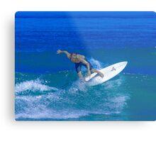 Silver Surfer Metal Print