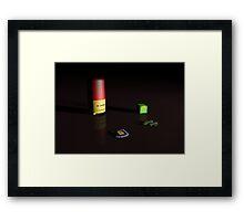 Red Shotgun Kin Framed Print