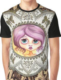 Little Lilac - Purple Hair Pastel Goth Girl Graphic T-Shirt
