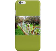 Bike Fence iPhone Case/Skin
