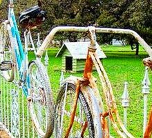 Bike Fence Sticker