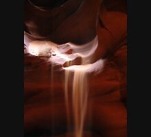 Flowing Sand in Antelope Canyon T-Shirt
