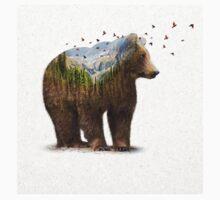 Wild I Shall Stay | Bear One Piece - Short Sleeve