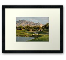 Early Evening View on the Course Framed Print