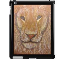 Lion in Colored Pencil iPad Case/Skin