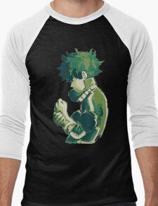 Midoriya Izuku - Boku No Hero Men's Baseball ¾ T-Shirt