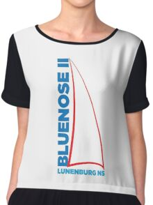 Bluenose II Lunenburg NS Chiffon Top