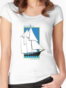 Bluenose II Lunenburg NS Women's Fitted Scoop T-Shirt