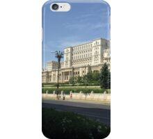 Romanian Parliament Palace iPhone Case/Skin