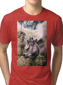 Old Monkey Tri-blend T-Shirt