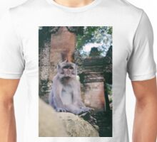 Watching Monkey Unisex T-Shirt
