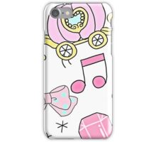The Pink Carriage iPhone Case/Skin