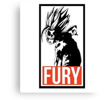FURY - Dragon Ball Canvas Print