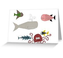 All the Fish in the Sea Greeting Card
