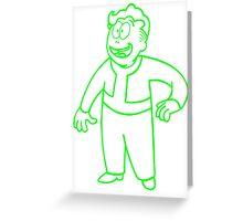 Idiot Savant Greeting Card