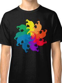 Bear Color Wheel Classic T-Shirt