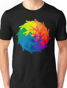 Elephant Color Wheel Unisex T-Shirt