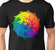 Elephant Color Wheel Unisex T-Shirt