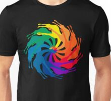 Giraffe Color Wheel Unisex T-Shirt