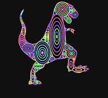 Colorful Tyrannosaurus Circles Unisex T-Shirt
