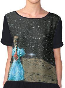 Space Girl Chiffon Top