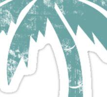 Summer Caribbean Palm Trees Sticker