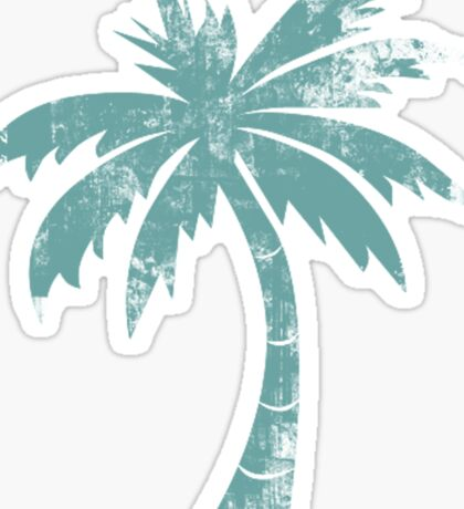 Summer Caribbean Palm Trees Sticker