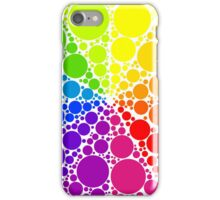 Color wheel palette or color circle isolated. The physical representation of color transitions and HSB. iPhone Case/Skin
