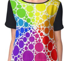 Color wheel palette or color circle isolated. The physical representation of color transitions and HSB. Chiffon Top