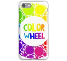 Color wheel palett or color circle isolated.  iPhone Case/Skin
