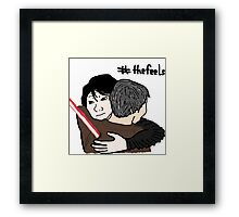 The Feels Awaken Framed Print