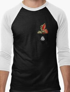 Hard to Destroy Reptile Men's Baseball ¾ T-Shirt